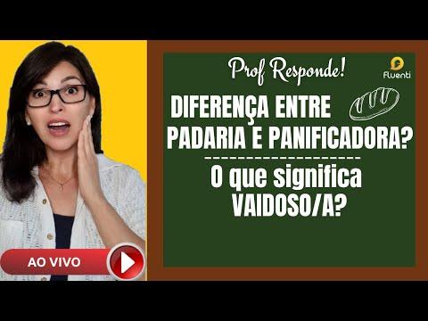VAIDOSO? PADARIA X PANIFICADORA? Prof Responde!