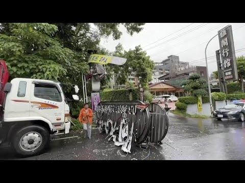 Földrengés rázta meg Tajvant