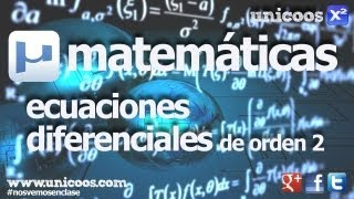 Imagen en miniatura para Ecuación diferencial lineal homogénea de segundo orden