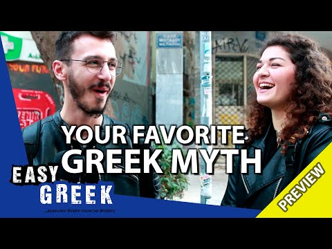 What's your favorite ancient Greek myth? (Trailer) | Easy Greek 60 photo