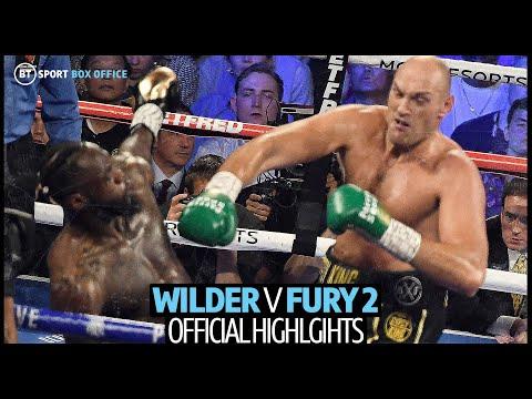 Deontay Wilder v Tyson Fury 2 fight highlights