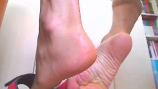 Heels, soles and tendons !