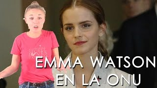 Emma Watson da discurso en la ONU