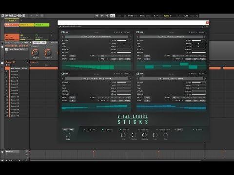 SoundsAndGear Live - Big Fish Friday - Vir2 Vital Series: Sticks Review