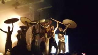 Heilung @ Castlefest 2017 (warriors on stage)