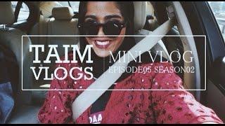#TAIMVLOGS S02E05    MINI VLOG \ العيد في بيتنا بدون ماما وبابا