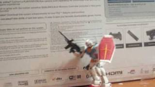 RX-78-2 gundam Beam rifle test 2 Stop motion
