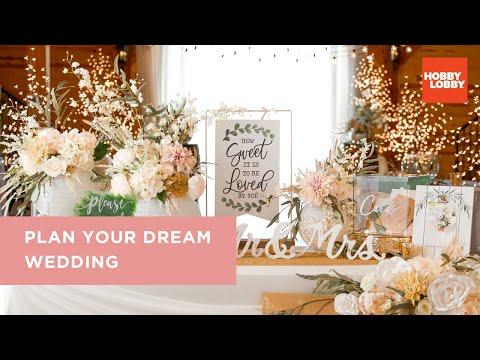 Plan Your Dream Wedding | Hobby Lobby®