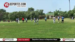 Deportivo Jeruco vs. Deportivo Maya Liga 5 de Mayo