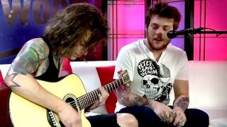 Asking Alexandria Gets Cheeky & Acoustic!