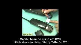 Curso de Conserto de Telefone e Fax: Como consertar um defeito no telefone Panasonic KX-TC170