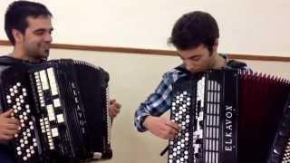 Luis Godinho e Ricardo Laginha - Valsa de Vale das Éguas (acústico)