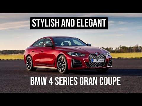 NEW 2021 BMW 4 Series Gran Coupe