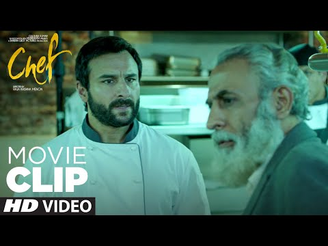 Chef Or Bawarchi Me Fark Samjho   CHEF   Movie Clip   Saif Ali Khan, Padmapriya J   T-Series