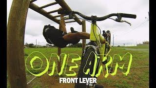 One arm front lever ( Bike  Stunt2 )