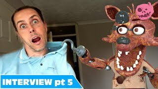 fnaf foxy in real life comedy - you won't believe what his hook's for!