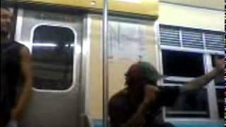 Bob Marley no trem