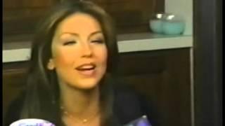 Thalía - No Me Enseñaste -  Video Backstage