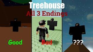 ROBLOX Treehouse | All 3 Endings (Season 2, Episode 9)