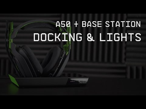 A50 Wireless + Base Station Docking and Lights || ASTRO Gaming