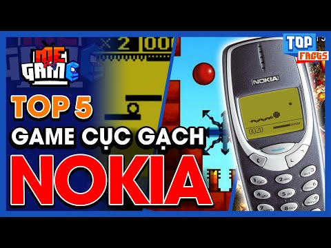 Top 5 Game Nokia Cục Gạch Huyền Thoại - Bounce, Rapid Roll...   meGAME