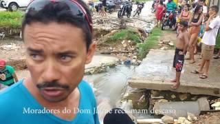 Ilhados, moradores do Dom Jaime Câmara em Mossoró, pedem providencias