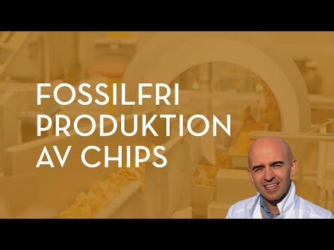 Fossilfri produktion av chips