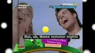 John Travolta Olivia Newton John Summer Nights