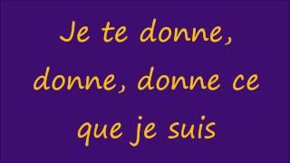 Leslie & Ivyrise - Je te donne lyrics