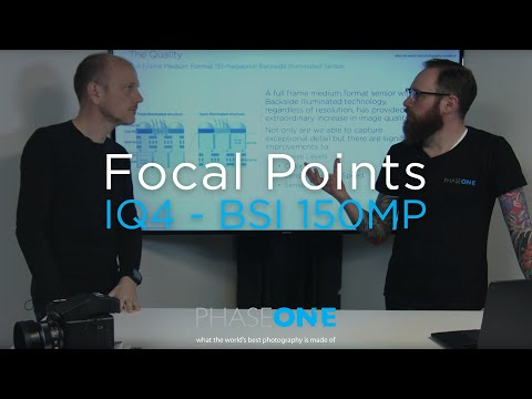 Education I Focal Points - BSI Sensor | Phase One