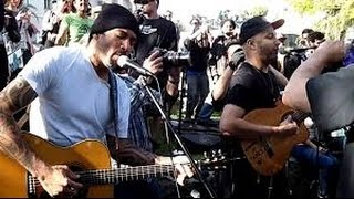 Ben Harper and Tom Morello !!! Better Way !!! Live in L.A. Streets !!!