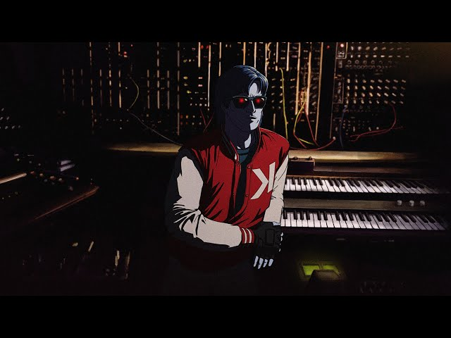 "Vídeo oficial de ""road game"" de Kavinsky"