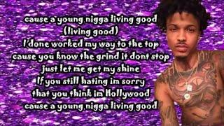 August Alsina - Hollywood (Lyrics)