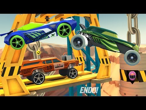 HOT WHEELS RACE OFF Gameplay Cruise Bruiser / Rip Rod / Nerve Hammer HW Cars | New Hot Wheels 2018