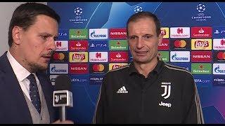 Juventus-Valencia, INTERVISTA ALLEGRI: