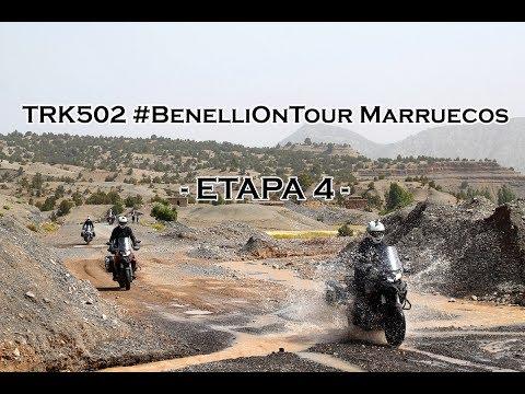 Motosx1000: TRK502 #BenelliOnTour Marruecos  - Etapa 4 -