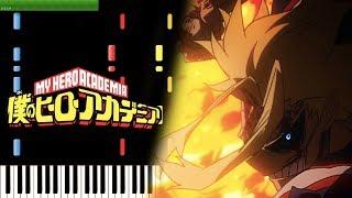 UNITED STATES OF SMASH! - My Hero Academia OST (Piano Tutorial) [Synthesia]