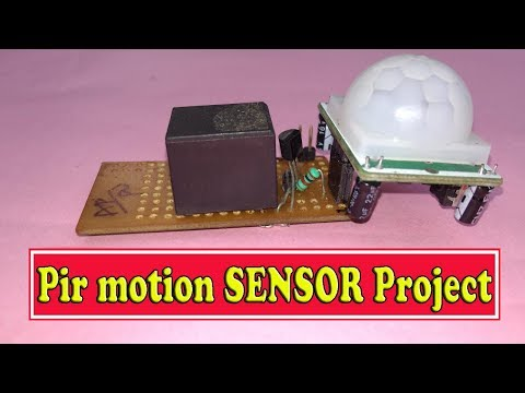 Download thumbnail for Pir motion sensor,school projects,electronics