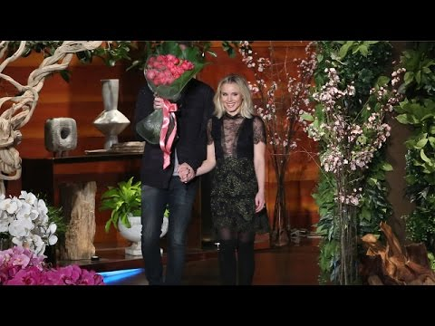 Kristen Bell and Dax Shepard Talk Celebrity Crushes