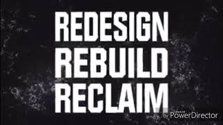 Wwe Seth Rollins new custom titantron (redesign rebuild reclaim burn it down)