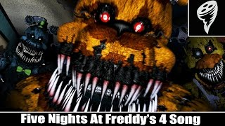 FIVE NIGHTS AT FREDDY'S 4 SONG - SOZINHO A NOITE EU NÃO ESTOU (TONIGHT WE`RE NOT ALONE)