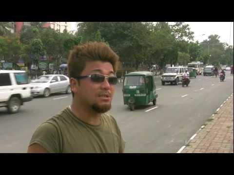 アキーラさん市内散策35!バングラデシュ・ダッカ事件現場2!Dahka,Bangladesh