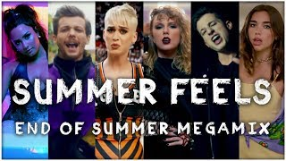 SUMMER FEELS | End Of Summer 2017 Megamix (Mashup) // by Adamusic