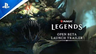 Magic: Legends open beta live with new CG trailer