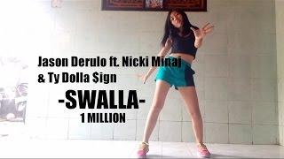 (Dance Cover) Jason Derulo ft. Nicki Minaj & Ty Dolla $ign - SWALLA - Rina Okawa