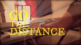 """Go the Distance"" piano cover [W/Lyrics]"