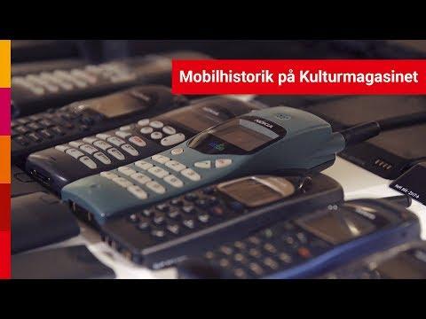 Mobilhistorik på Kulturmagasinet