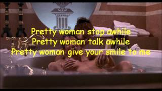 Oh, Pretty Woman / Roy Orbinson - Lyric Video - HD 1080p