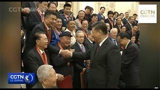 Xi Jinping rencontre les lauréats de la médaille des