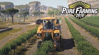 PURE FARMING 2018 PRE-ALPHA ITALIA - OGGI VENDEMMIAMO - GAMEPLAY ITA